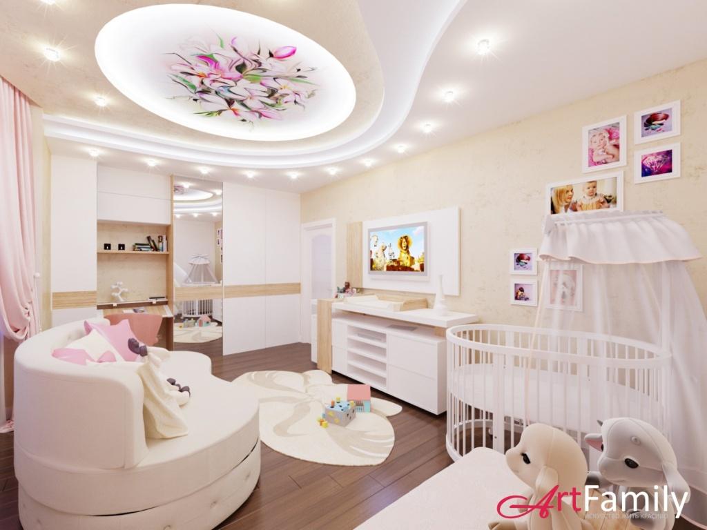 Детские комнаты для девочек дизайн фото